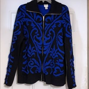 Zenergy by Chico's Jacket Size 3